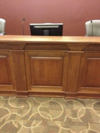 Cobb County Water Authority custom paneling