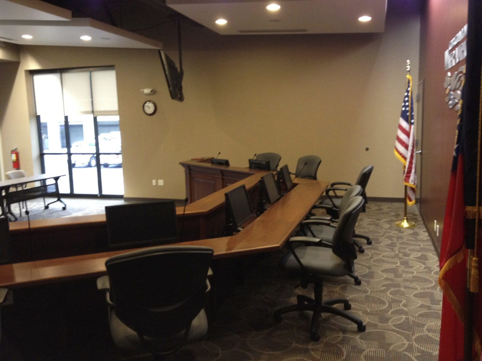 Cobb County Water Authority board room