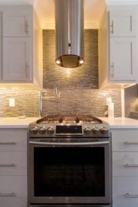 Doraville Kitchen view of range, stove and range hood