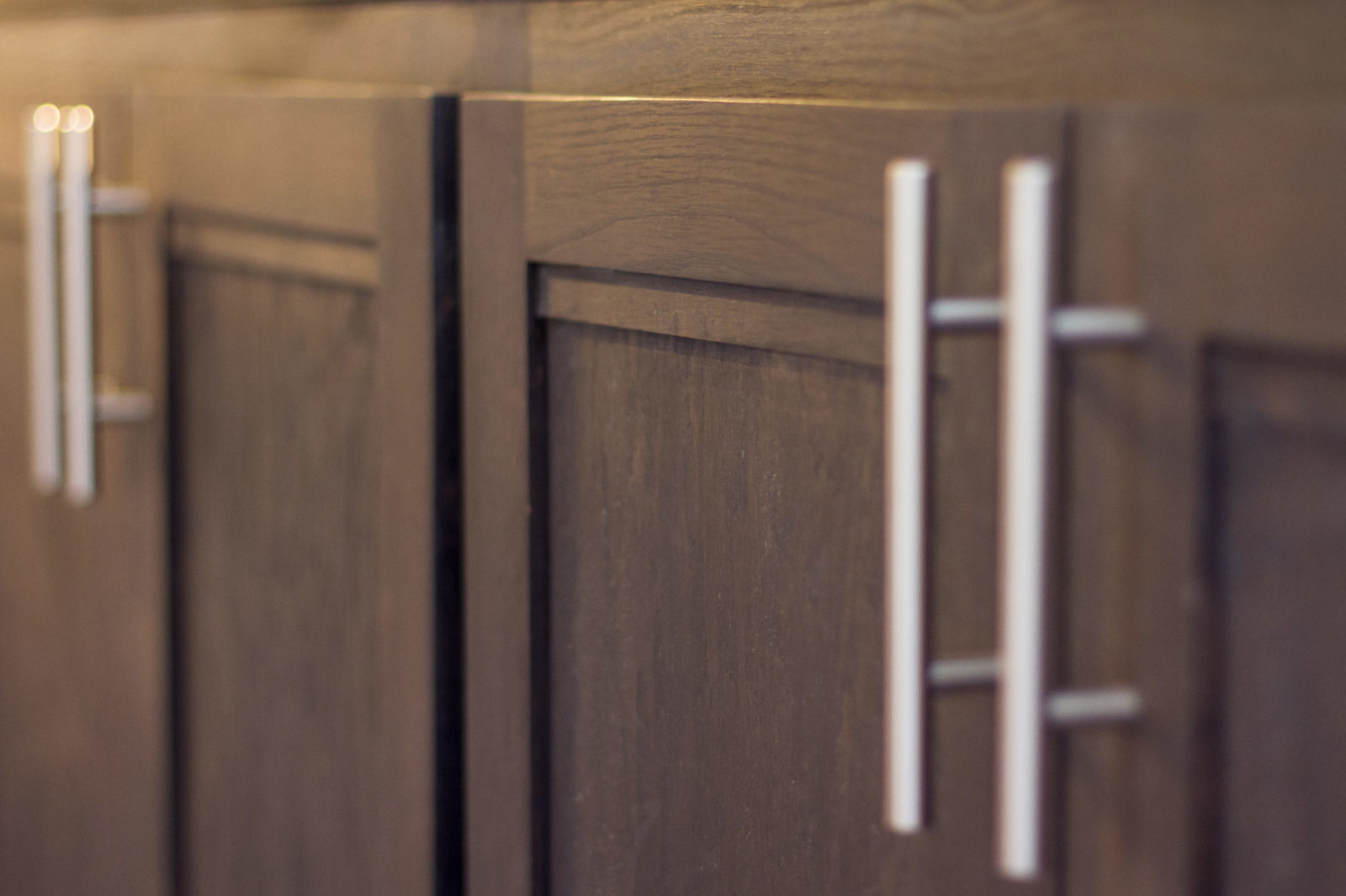 Doraville Kitchen Detail look at the Custom hardware