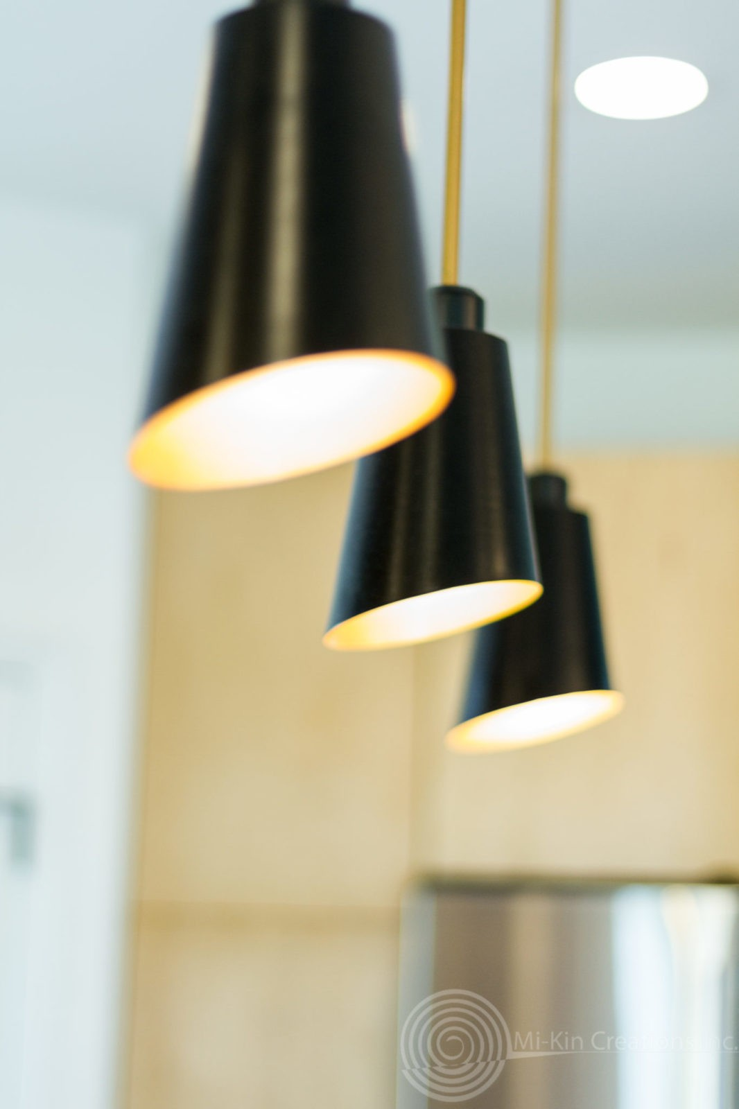 Modern Scandinavian Close up of the Shepherd Lighting .