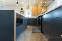 Modern Scandinavian Kitchen Remodel Base Cabinets