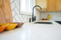Modern Scandinavian Kitchen Remodel Counter View