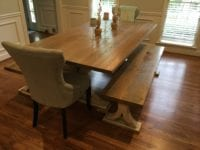 Custom Farm House Dining Room Table