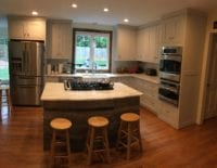 Custom Shaker style kitchen full view
