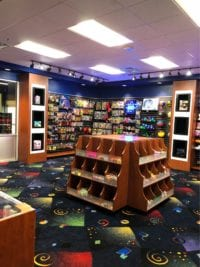 Retail display area for stars and strikes