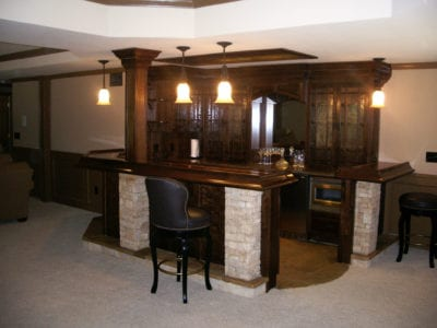 The Ultimate Irish Pub Basement Renovation