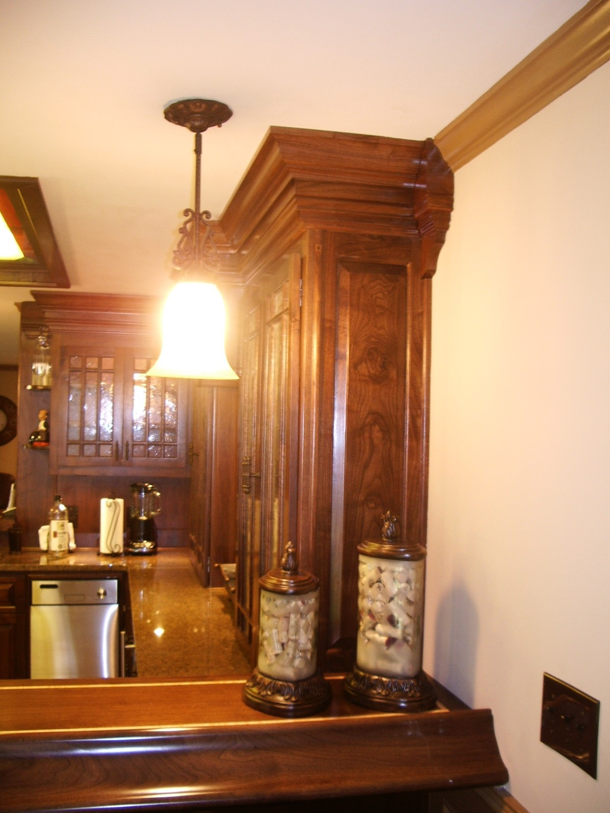 Pub Cabinetry for your basement