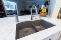Shaker Kitchen in Milton GA Kitchen Sink